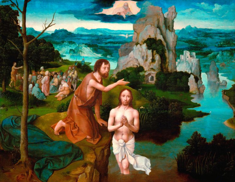 The Baptism of Jesus buy John the Baptizer